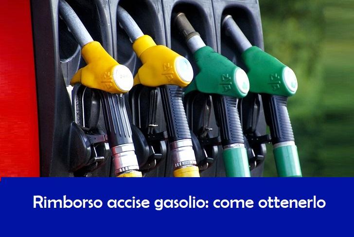 Rimborso accise gasolio: Come recuperare le accise sul gasolio consumato nel 2° trimestre 2018