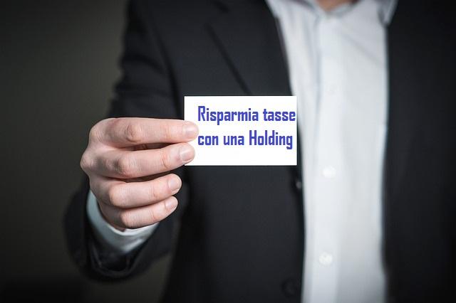 Holding: uno strumento utile per pagare meno tasse